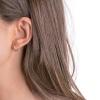 Boucles d'oreilles Ubud argent