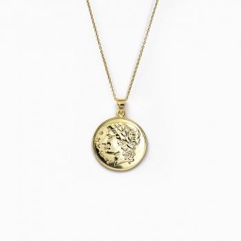 Halsketting Lima goud