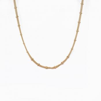 Halsketting Sacramento goud