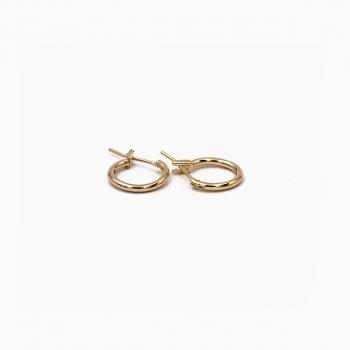 Boucles d'oreilles Capri or