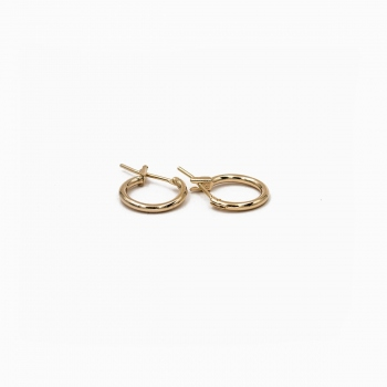 Earrings Capri gold - 12