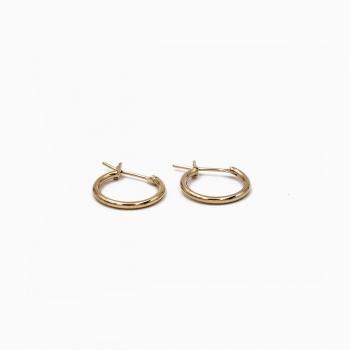 Boucles d'oreilles Capri or - 16