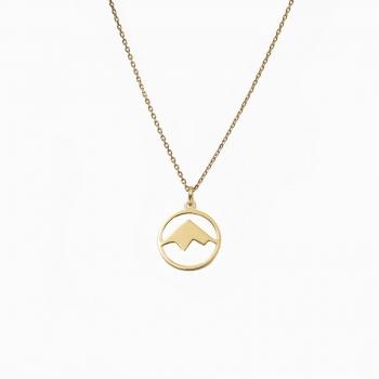 Halsketting Andes goud