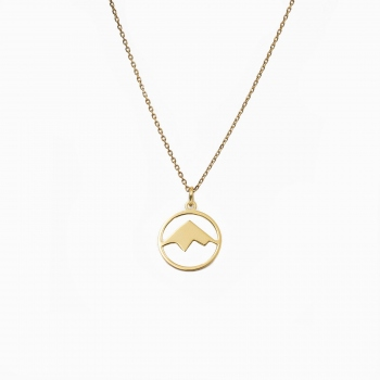 Necklace Andes gold