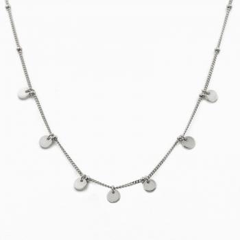 Collar Havana plata