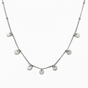 Necklace Havana silver