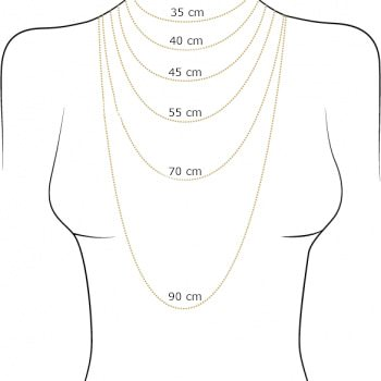 necklace size guide jewels